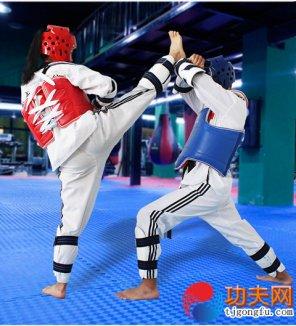 跆拳道中力学的应用