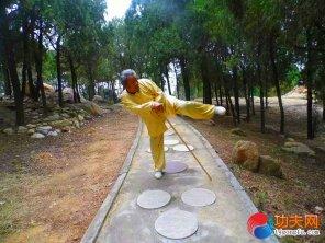 宋庆福大师练习两仪短棍