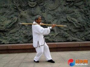 宋庆福大师练两仪禅杖