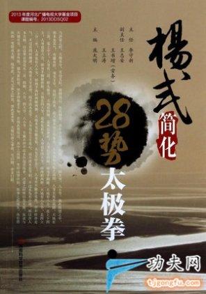 杨式28式太极拳